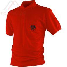JOB Polo Shirt Dachd., rot