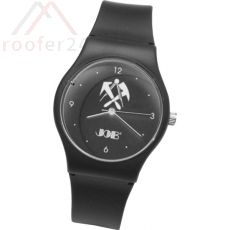 JOB Dachdecker-Armbanduhr, schwarz